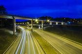 New Viaduct in Vilnius, Lazdynai (Lithuania) — Stock Photo