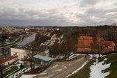 Vilnius (Lithuania) in the winter — Stock fotografie
