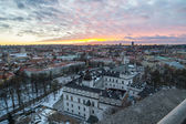 Vilnius (Lithuania) in the winter — ストック写真