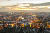 Vilnius (Lithuania) in the winter — Stock Photo