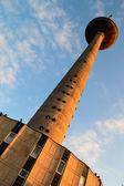 телевизионная башня в вильнюсе, — Стоковое фото