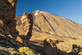 Teide volcano, in Tenerife, the Canary Islands, Spain — Stock Photo