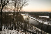 Lithuania in Winter — Stock Photo