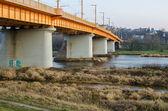 Petras Vileisis Bridge in Kaunas, Lithuania — Stock Photo