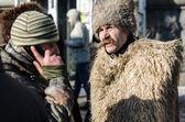 Maidan protestos em 31 de janeiro de 2014, em kiev, ucrânia — Fotografia Stock