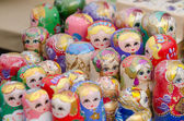 Russian Matryoshka dolls — Stock Photo