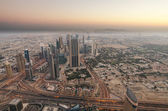 Downtown of Dubai (United Arab Emirates) in the morning — Stock Photo