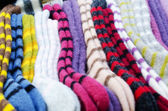 Traditional woollen sox — 图库照片