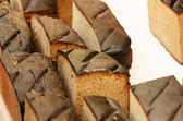 Homemade rye bread — Stock Photo