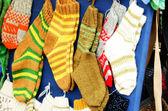 Traditional woollen sox — Foto de Stock