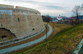 The Bastion of City Wall in Vilnius — Stock Photo