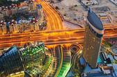 Crossing in Dubai — Stock Photo