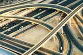 Crossroad in Dubai — Foto Stock