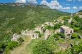 Ghost town Gairo Vecchio (Sardinia, Italy) — Stock Photo