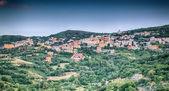Mountain town - Lanusei (Sardinia, Italy) — Stock Photo