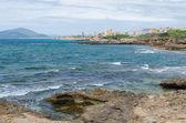 Mediterranean coast next to Alghero, Sardinia, Italy — Stock Photo