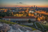 Aerial view of Vilnius, Lithuania — Stock Photo