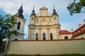 St. Michael's Church (Sv. Mykolo Baznycia) in Vilnius, Lithuania — Stock Photo