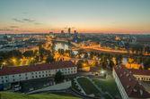 Aerial view of Vilnius,  Lithuania — Stock Photo