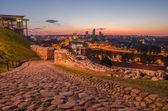 ビリニュス、リトアニアの空撮 — ストック写真