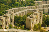 Prefab houses in Lazdynai, Vilnius, Lithuania — Stock Photo