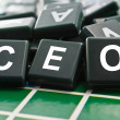 CEO (Chief executive officer) word — Stock Photo