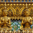 Golden Kinnara statue — Stock Photo #33644647