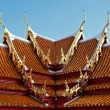 Stock Photo: Thai temple roof design