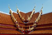 Thai temple roof design — Stock Photo
