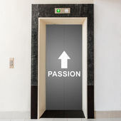 Elevator with way to passion — Foto de Stock