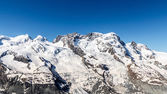 Mountain Range Landscape at Matterhorn, Switzerland — Stockfoto