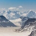 Aletsch Glacier in the Jungfraujoch, Swiss Alps, Switzerland — Stock Photo #51049275