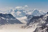Aletsch Glacier in the Jungfraujoch, Swiss Alps, Switzerland  — Stock Photo