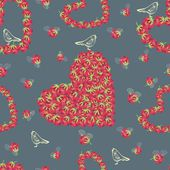 Hearts pattern — Vecteur