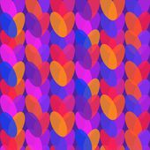 Holiday Valentines day seamless pattern with hearts — Stok Vektör