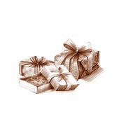 Holiday box — Stock Photo