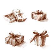 Holiday box set — Foto de Stock