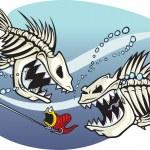 Skelefish — Stock Vector #31819471