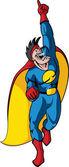 Super Hero 1 — Stock Vector