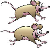 Two Mice — Stock Vector