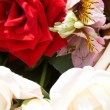 Stock Photo: Background from roses