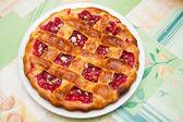 Fruit sweet pie — Stock Photo