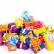 Array of gifts — Stock Photo
