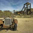 An Old truck in Goldfield Ghost town — Stock Photo