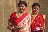 Sindur Khala Durga Puja 2011 at Kolkata — Stock Photo