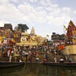 Stock Photo: Daswaswamedh Ghat