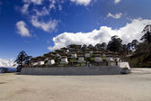Dochu La pass, Bhutan with 108 Chorten — Stock Photo