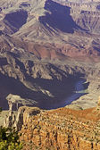 Colorado rivier in grand canyon national park — Stockfoto