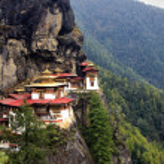 Постер, плакат: Taktshang Goemba Tigers Nest Monastery Bhutan
