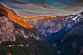 Yosetime National Park Panoramic View — Stock Photo